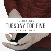 lululemon Tuesday Top 5 (11/19/19)