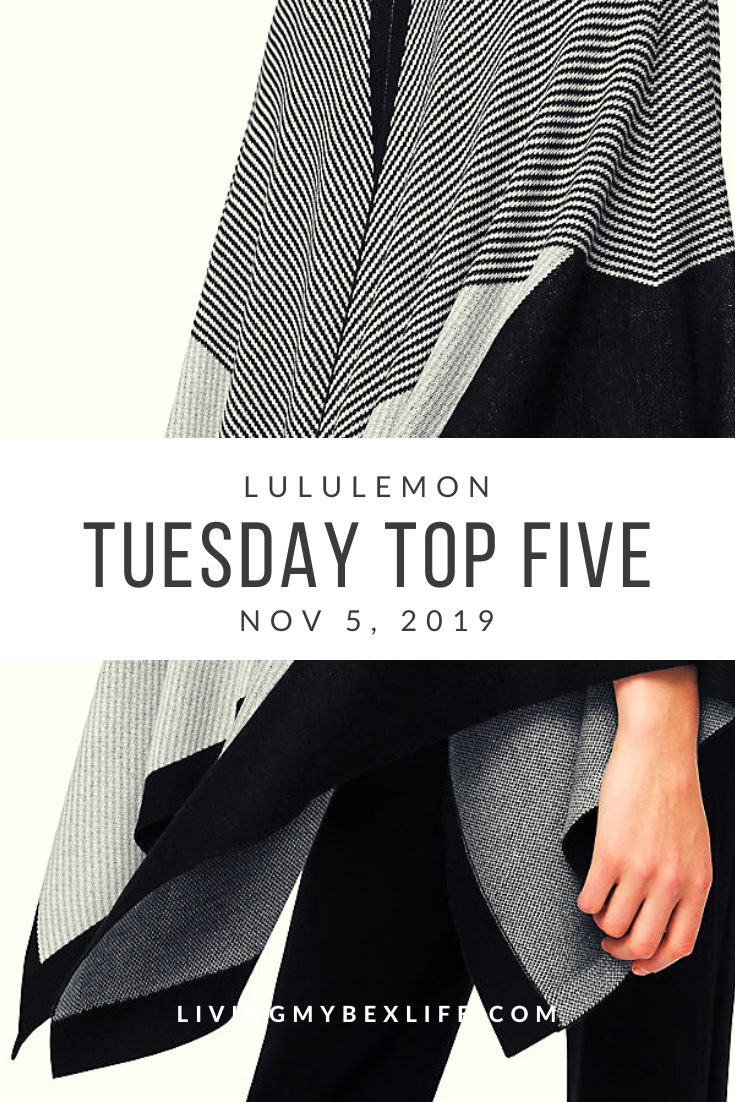lululemon Tuesday Top 5 (11/5/19)