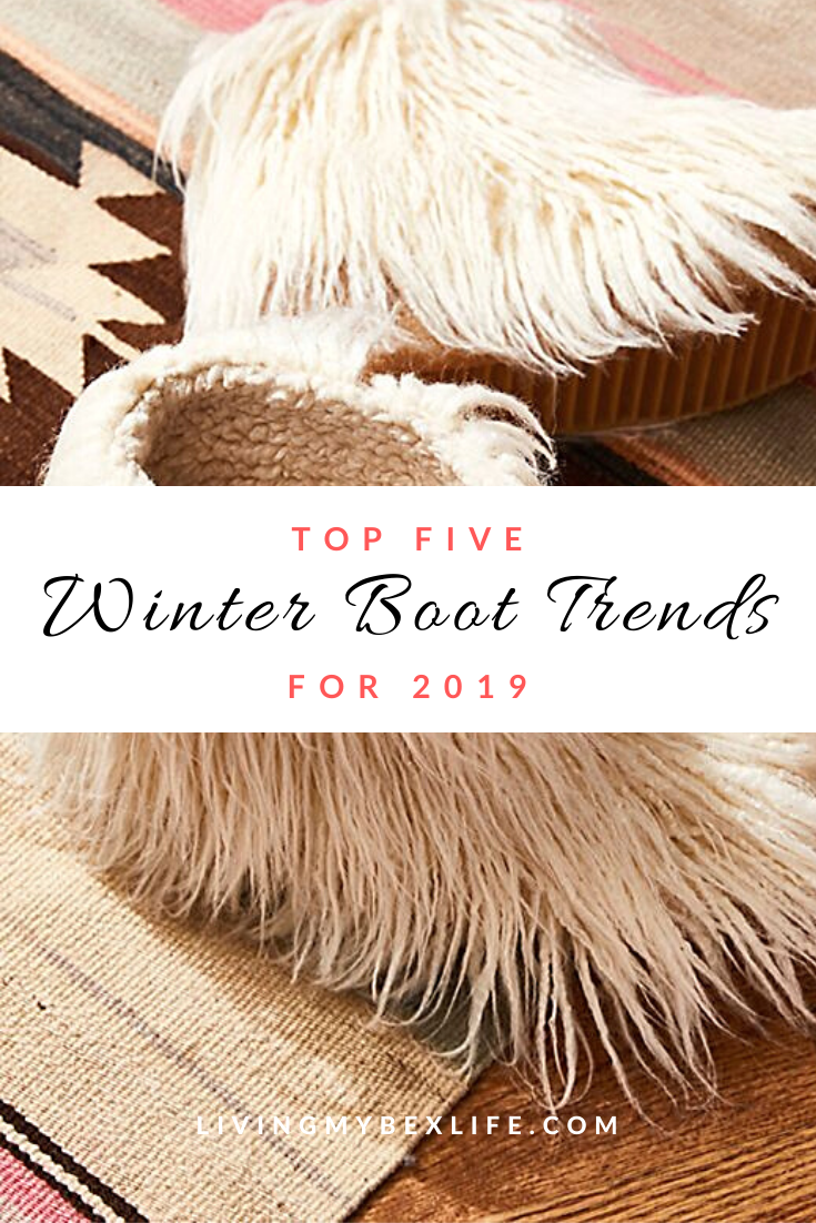 Top 5 Winter Boot Trends for 2019
