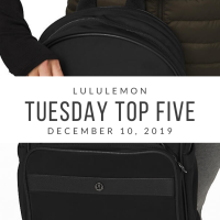 lululemon Tuesday Top 5 (12/10/19)