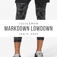 lululemon Markdown Lowdown (1/9/20)