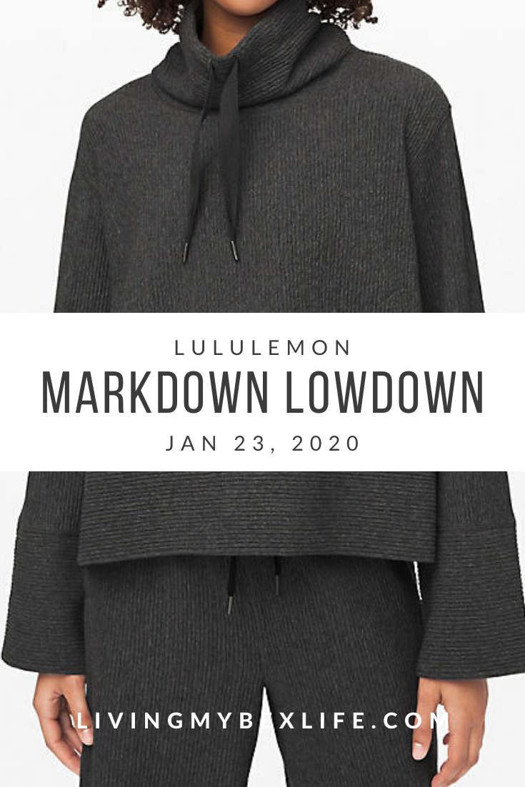 lululemon Markdown Lowdown (1/23/20)