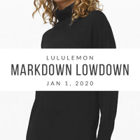 lululemon Markdown Lowdown (1/2/20)