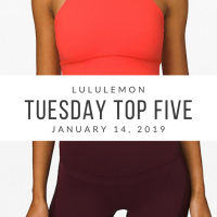 lululemon Tuesday Top 5 (1/14/20)