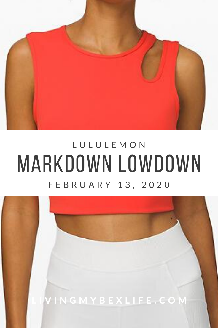 lululemon Markdown Lowdown (2/13/20)