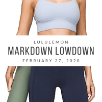 lululemon Markdown Lowdown (2/27/20)