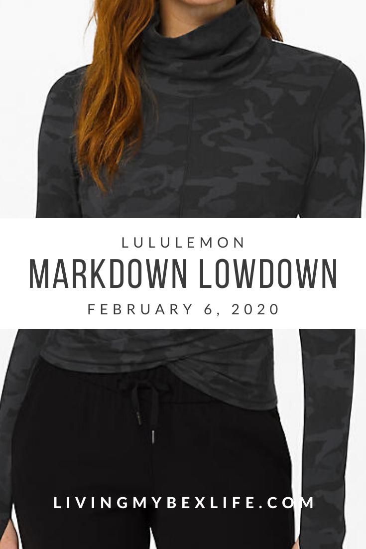 lululemon Markdown Lowdown (2/6/20)